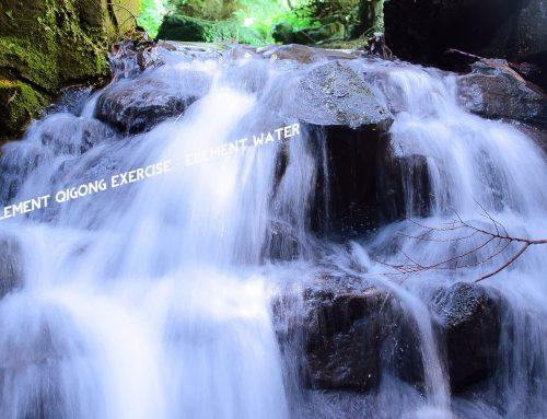 De vijf elementen Qigong-oefening – element water